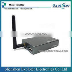 WIFI HDMI Mirror Link Support ISO & Android Phone