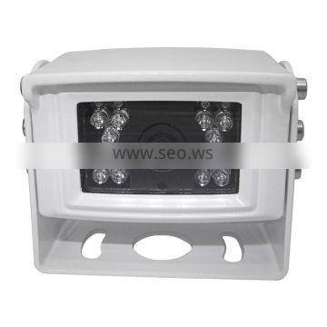Wired Analog DC12V Aluminum Shell Mirror and Normal Adjust IR Night Vision Waterprppf Rearview Forklift Camera