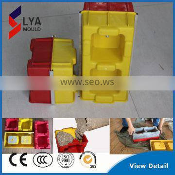 Durable High Quality Interlocking Concrete Stone Wall Cladding Plastic Mould For Sale