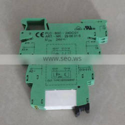 PLC-ESK GY solid state relay PLC interface terminal block