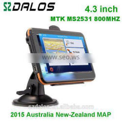 4.3 inch GPS Navigation AVIN and Bluetooth+4GB WinCE 6.0 Car GPS