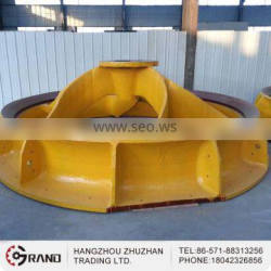 Forging China industrial big closed impeller
