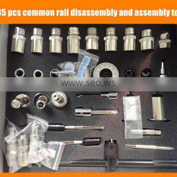 Common rail injectors repair tools Common Rail Injector Disassembly and Assembly Tools 35pcs/set