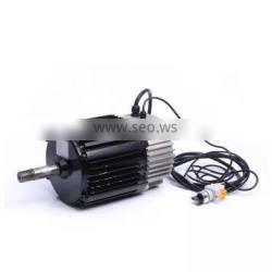 72v 1kw 60v 2kw 12mm shaft sensorless electr tricycl control brushless dc motor for electr saw