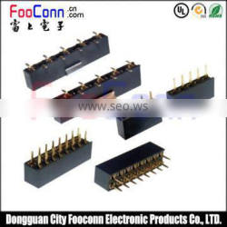 High Quality 2.54mm Double-row Female Header for pcb mount