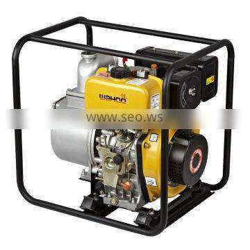 Agricultural irrigation centrifugal 4'' Diesel water pump with 406cc New engine