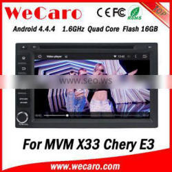 Wecaro WC-MC7230 Android 4.4.4 2 din double din car dvd player for audi a3 TV tuner