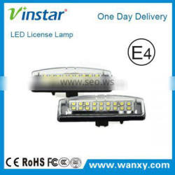 High power Car led License Plate Lamp auto License Plate Lamp for TOYOTA CAMRY/LEXUS