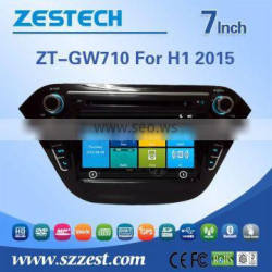 Factory 7 inch double din car gps for Great Wall H1 2 touch screen gps with DVD +3G+BLUTOOTH +AM/FM+USB/SD + A/V In/out