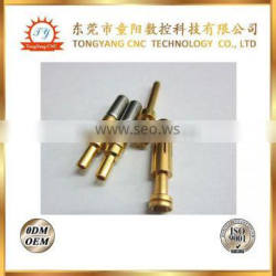 China Machining Copper pin /automatic lathe processing mini parts