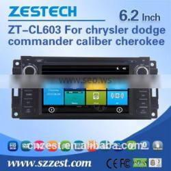6.2 inch car audio For JEEP chrysler dodge commander caliber cherokee