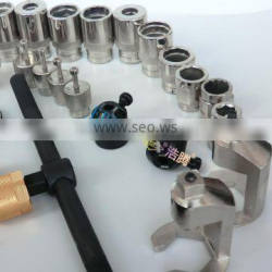 ERIKC common rail tools for injectors crdi/guaranteed injector disassembly tools and manual fuel pump tool for car fuel injector