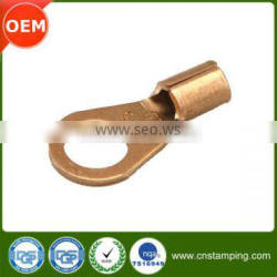 Custom metal stamping cable termination lug