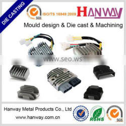 Guangdong OEM manufacture auto motorcycle ignition aluminum die casting heat sink