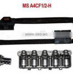 ATX A4CF2 Automatic Transmission wire harness Gearbox Solenoid Block with wire harness solenoid assembly