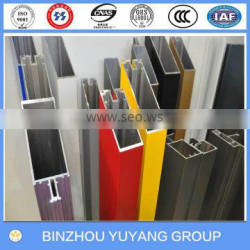 alluminum extrusion section 6063 for glass block screen wall