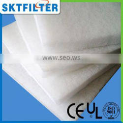 2014 White sound proof cotton factory direct sell pre filter media