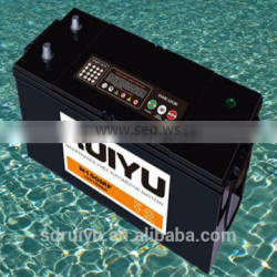 N150 12V 150AH be used on automobiles lead acid battery