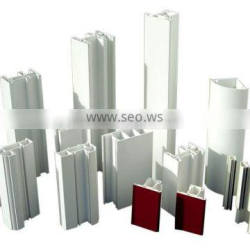 color PVC profile of building material For Casement and Sliding Window Door