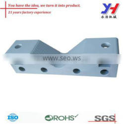 cnc machining 6063 aluminum extrusion profile