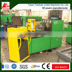 The real product auto common rail test bench connect general fuel injection pump test bench for saving cost in China