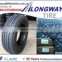 low price qualified LONGWAY tire 155/70R12, with ECE, DOT, ISO