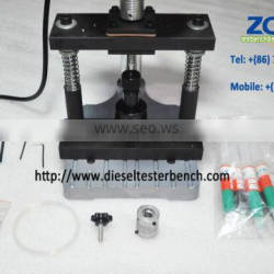 Grinding Tools Kit For Injector Valve Assembly with high speed drill be nch diesel CR tool