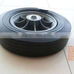 rubber wheel supplier with low price and good quality