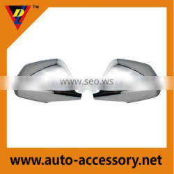 Chromium plating rear view mirror covers for cadillac cts 2008 2009 2010 2011 2012
