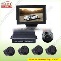 Factory supply used cars for sale in usa 4.3 inch parking sensor backup camera