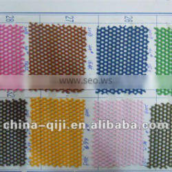 100% polyester laundry dyed mesh lining fabric