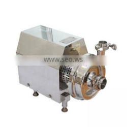 open type impeller sulzer multistage horizontal stainless steel centrifugal pump