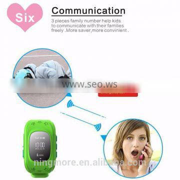 2016 Ningmore new GPS Tracker Q50 Kids GPS Smart Watch For Children