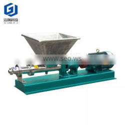 sanitary stainless steel a set of rotor and stator high viscosity single water screw pump