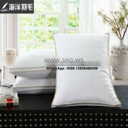Professional Factory Cheap Feather And down Pillow White Duck Feather Down Pillow
