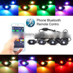 Sanyou Newest!!! Sanyou Hot Sales! RGB Rock lights led DIY decorative lights controlled by bluetooth