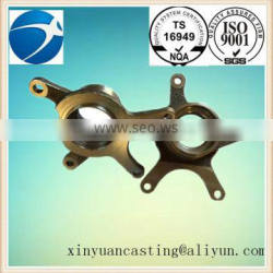 hot sale steel forging steering knuckle for auto parts