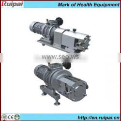 Stainless lobe rotor gear pump with CE/HACCP/ISO