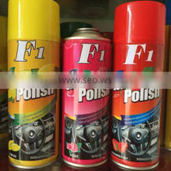 dashboard wax spray polish f1