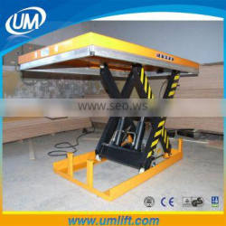 Best Chinese Producers heavy Duty Hydraulic 3M Motorcycle Cylinder Scissor Lift For Loading 1-4 Tons