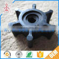 Custom made durable cheap small rubber impeller wheel