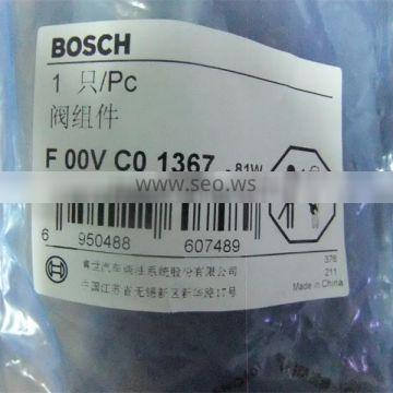 Common Rail Injector Spare Parts Control Piston Valve F00VC01367 With Best Price
