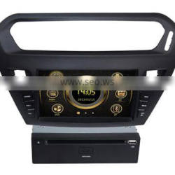 New design wince car central multimedia for Peugeot 301 with GPS/3G/DVD/Bluetooth/IPOD/RMVB/RDS