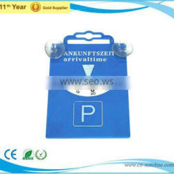 Hot sell electronic parking disc with 2pcs coins