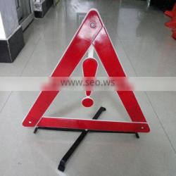 new design folding traffic sign for car security