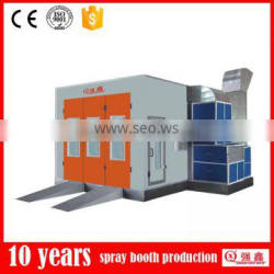 infared heating spray bake paint booth