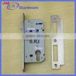 Hot sale 72*45mm mortise door lock