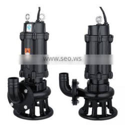 electric 3 phase 15hp submersible pump for sewage