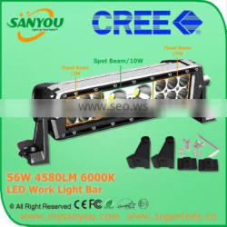 Hot Sale Product profashional Chips 56w 4580lm 6000k LED Work Light Bar