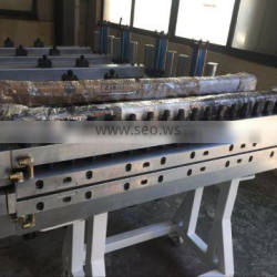Shanghai Weilei extrusion mould we can make pvc wpc foam board hollow or solid door board mould etc